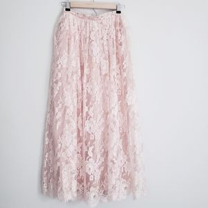 Vintage Liberty & Lucrezia - 100% Linen Skirt